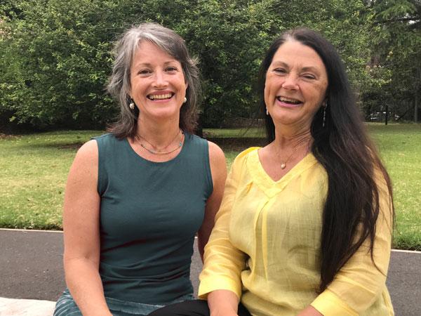 Linda Mukti Rysenbry & Shari Elle