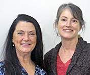 Shari Elle and Linda Rysenbry