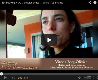 Embodying NVC Consciousness - Vittoria Borg-Olivier speaks